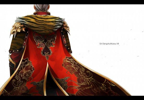 Tags: Anime, Pixiv Id 2388532, Dynasty Warriors, Sun Jian, Tiger Print, Fanart From Pixiv, Fanart, Pixiv