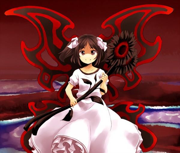 Tags: Anime, Yudepii, Touhou, Undefined Fantastic Object, Sunflower Fairy, Fanart From Pixiv, Fanart, Pixiv