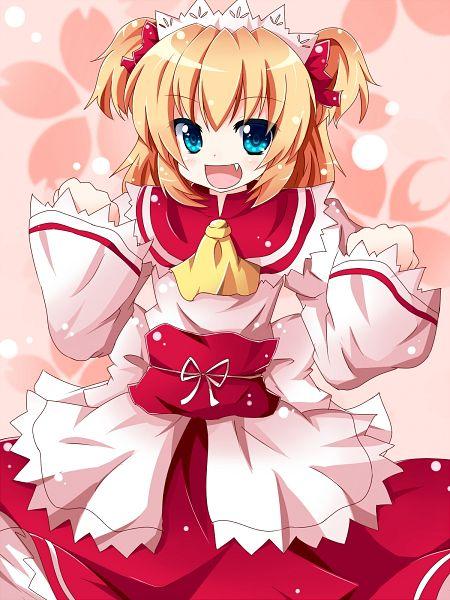 Tags: Anime, Ruina, Touhou, Sunny Milk, Fanart, Pixiv