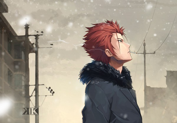 Tags: Anime, Pixiv Id 2724054, K Project, Suoh Mikoto, Pixiv