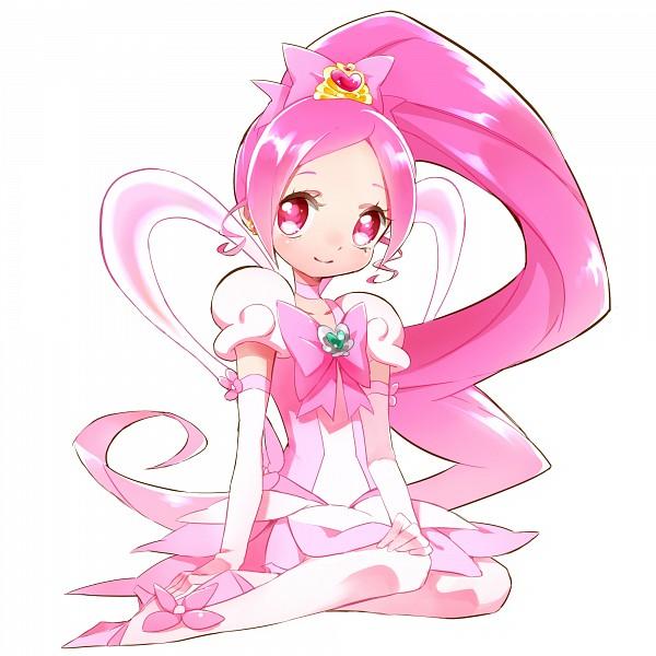 Tags: Anime, Yui 61, Heartcatch Precure!, Super Cure Blossom, Hanasaki Tsubomi, Cure Blossom, Flower Skirt, Pixiv, Fanart, Fanart From Pixiv
