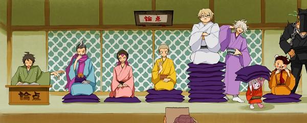 Tags: Anime, Pixiv Id 252987, Super Danganronpa 2, Togami Byakuya (Super Danganronpa 2), Hanamura Teruteru, Komaeda Nagito, Hinata Hajime, Monomi (Super Danganronpa 2), Tanaka Gundam, Kuzuryuu Fuyuhiko, Nidai Nekomaru, Souda Kazuichi, Fanart From Pixiv