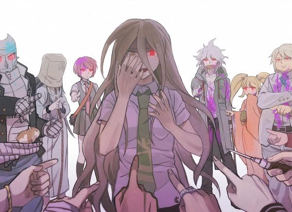Tags: Anime, Pixiv Id 4783638, Super Danganronpa 2, Kuzuryuu Fuyuhiko, Komaeda Nagito, Hinata Hajime, Saionji Hiyoko, Nidai Nekomaru, Pekoyama Peko, Togami Byakuya (Super Danganronpa 2), Mioda Ibuki, Hanamura Teruteru, Tanaka Gundam