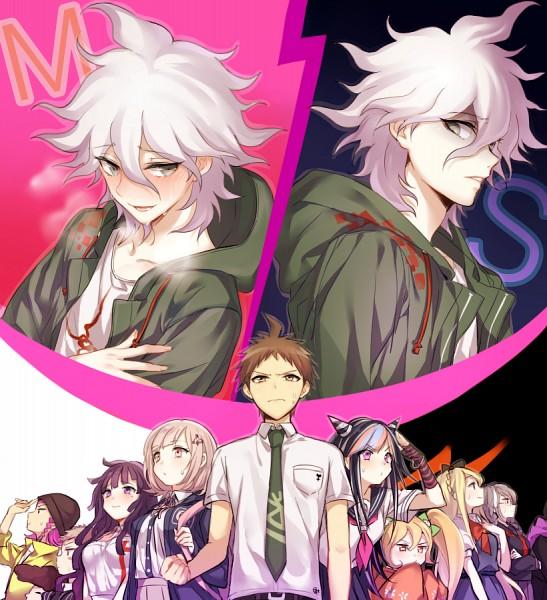 Tags: Anime, mery (dpqpqp550), Super Danganronpa 2, Komaeda Nagito, Hinata Hajime, Mioda Ibuki, Pekoyama Peko, Nanami Chiaki, Tanaka Gundam, Tsumiki Mikan, Hanamura Teruteru, Kuzuryuu Fuyuhiko, Souda Kazuichi