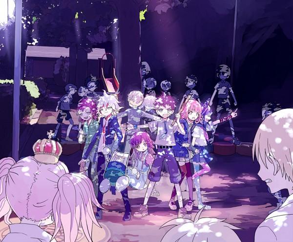 Tags: Anime, Pixiv Id 1602434, Super Danganronpa 2, Pekoyama Peko, Souda Kazuichi, Enoshima Junko, Kuzuryuu Fuyuhiko, Komaeda Nagito, Mioda Ibuki, Nidai Nekomaru, Nanami Chiaki, Hinata Hajime, Tsumiki Mikan