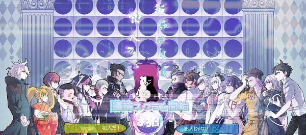 Tags: Anime, gorogoronyanko, Super Danganronpa 2, Nanami Chiaki, Sonia Nevermind, Koizumi Mahiru, Tsumiki Mikan, Owari Akane, Kuzuryuu Fuyuhiko, Souda Kazuichi, Hinata Hajime, Saionji Hiyoko, Nidai Nekomaru