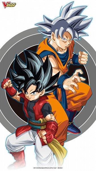 Tags: Anime, Bandai Namco Entertainment, DRAGON BALL, Super Dragon Ball Heroes, Son Goku (DRAGON BALL), Beat (Super Dragon Ball Heroes), Mobile Wallpaper, Wallpaper, Official Art, Official Wallpaper