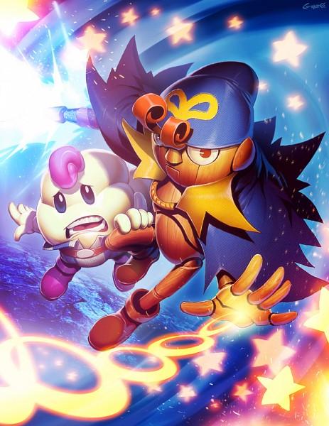 Tags: Anime, GENZOMAN, Super Mario Rpg, Super Mario Bros., Geno (Super Mario RPG), Mallow, Fanart, Fanart From Pixiv, Pixiv