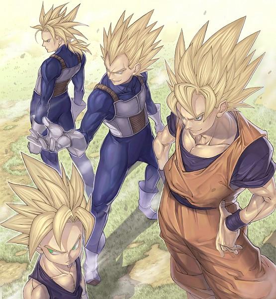 Super Saiyan - DRAGON BALL