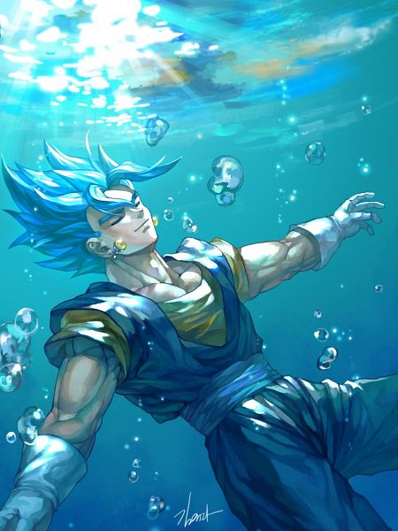 Super Saiyan Blue - DRAGON BALL SUPER
