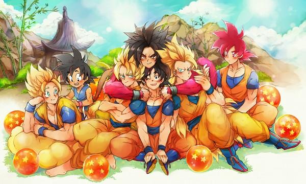 Super Saiyan God - DRAGON BALL SUPER