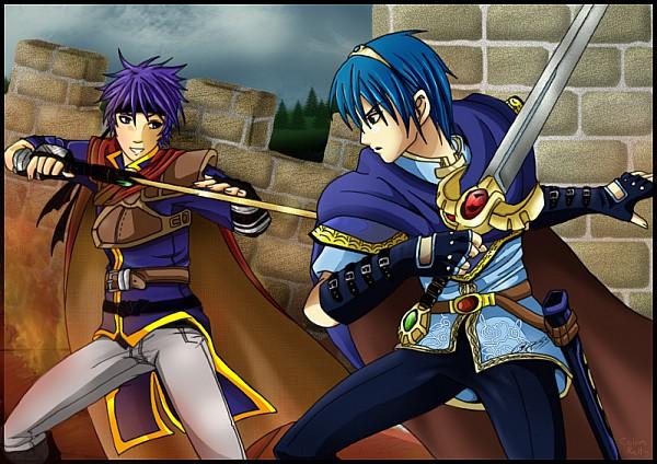 Tags: Anime, Super Smash Bros., Ike, Marth (Fire Emblem)