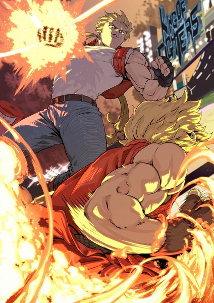 Tags: Anime, Nintendo, Capcom, The King of Fighters, Fatal Fury, Super Smash Bros., Street Fighter, Terry Bogard, Ken Masters