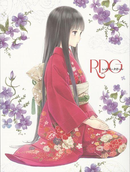 Tags: Anime, Kishida Mel, P.A. Works, RDG: Red Data Girl, Suzuhara Izumiko, Official Art, Scan