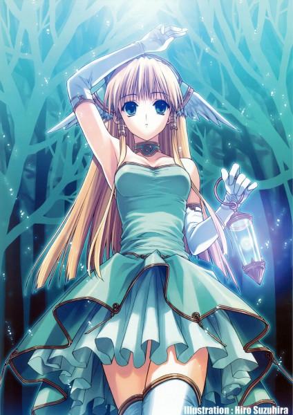 Tags: Anime, Suzuhira Hiro, Seiken Densetsu 3, Riesz, Mobile Wallpaper, Original