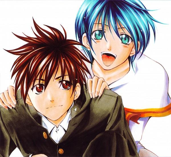 Tags: Anime, Seo Kouji, Suzuka (Series), Akitsuki Yamato, Asahina Suzuka, Official Art