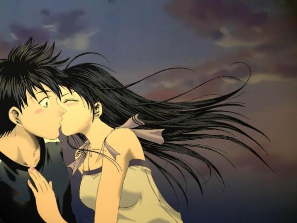 Tags: Anime, Seo Kouji, Suzuka (Series), Sakurai Honoka, Akitsuki Yamato, Artist Request, Colorization