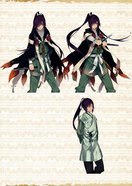 Tags: Anime, Yomi (Pixiv390297), Rejet, Ken ga Kimi, Suzukake, Scan, Mobile Wallpaper, Official Art, Character Sheet