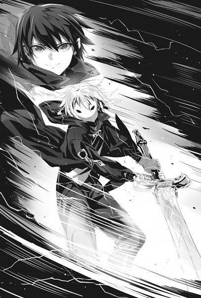 Tags: Anime, Shrimpman, Death March kara Hajimaru Isekai Kyousoukyoku, Suzuki Ichirou, Wig, Disguise, Official Art, Novel Illustration