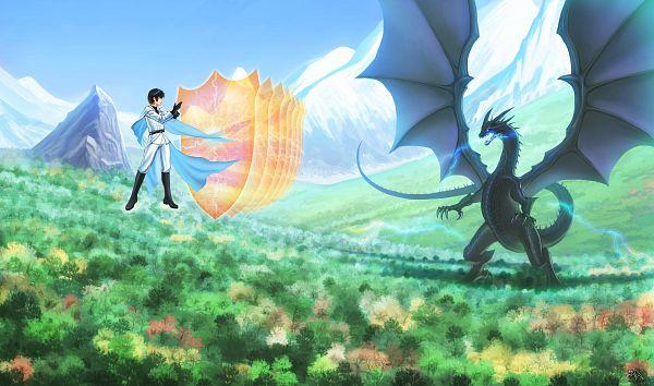 Tags: Anime, Darkmuleth, Death March kara Hajimaru Isekai Kyousoukyoku, Suzuki Ichirou, Fanart From Pixiv, Pixiv, Fanart