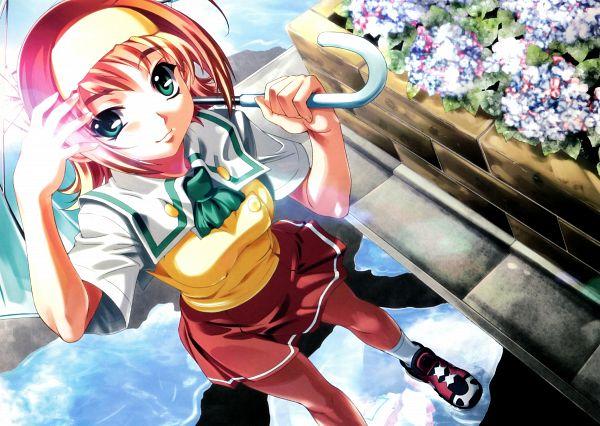 Tags: Anime, Baka Ouji Persia, âge, Kimi ga Nozomu Eien, Suzumiya Akane, Scan, Official Art