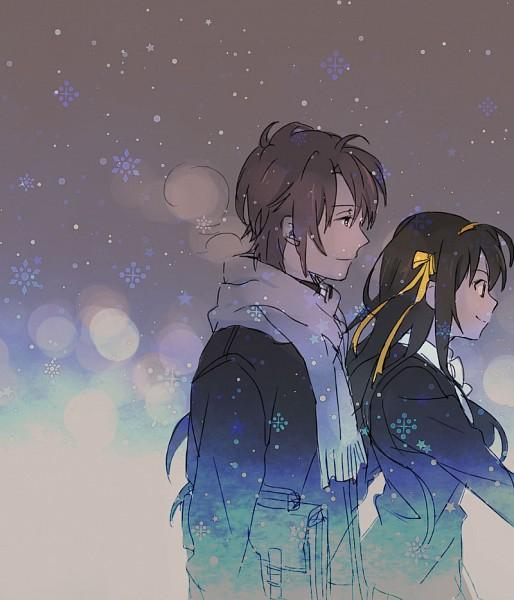 Tags: Anime, Pixiv Id 1207839, Suzumiya Haruhi no Yuuutsu, Koizumi Itsuki, Suzumiya Haruhi, Dark Colors, The Melancholy Of Haruhi Suzumiya