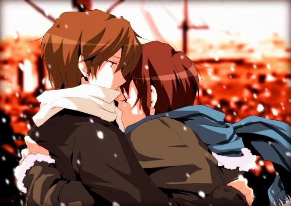 Tags: Anime, Pon De Yomisen, Suzumiya Haruhi no Yuuutsu, Koizumi Itsuki, Kyon, Pixiv, Fanart, The Melancholy Of Haruhi Suzumiya
