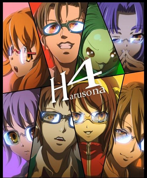 Tags: Anime, Banjoo, Suzumiya Haruhi no Yuuutsu, Nagato Yuki, Asakura Ryouko, Asahina Mikuru, Tsuruya, Suzumiya Haruhi, Koizumi Itsuki, Kyon, Taniguchi, Persona (Parody), Shin Megami Tensei: PERSONA 4 (Parody), The Melancholy Of Haruhi Suzumiya