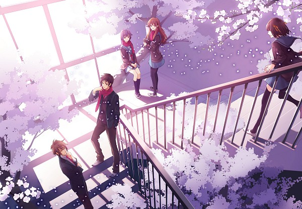 Tags: Anime, 00111 (Artist), Suzumiya Haruhi no Yuuutsu, Nagato Yuki, Asahina Mikuru, Suzumiya Haruhi, Koizumi Itsuki, Kyon, Pixiv, The Melancholy Of Haruhi Suzumiya