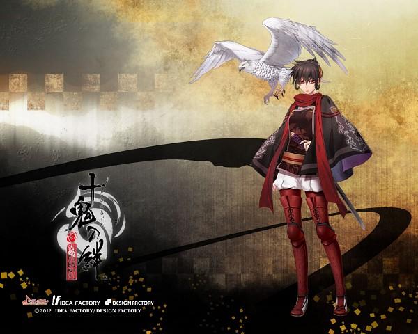 Tags: Anime, IDEA FACTORY, Toki no Kizuna, Suzumori Yukina, Hawk, Official Art, Wallpaper