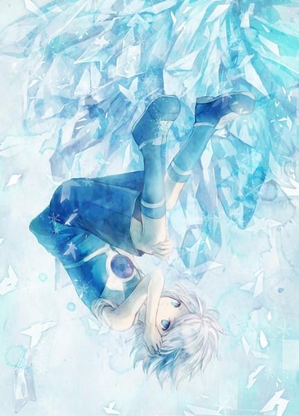 Tags: Anime, Inazuma Eleven, Suzuno Fuusuke, Mobile Wallpaper, Pixiv, Aliea Gakuen, Diamond Dust (Inazuma Eleven)