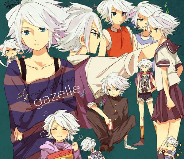 Tags: Anime, Yo Yuma, Inazuma Eleven, Suzuno Fuusuke, Fire Dragon Uniform, Aliea Gakuen, Diamond Dust (Inazuma Eleven)