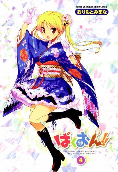 Tags: Anime, Orimoto Mimana, Bakuon!!, Suzunoki Rin, Wa Lolita, Official Art, Mobile Wallpaper, Scan