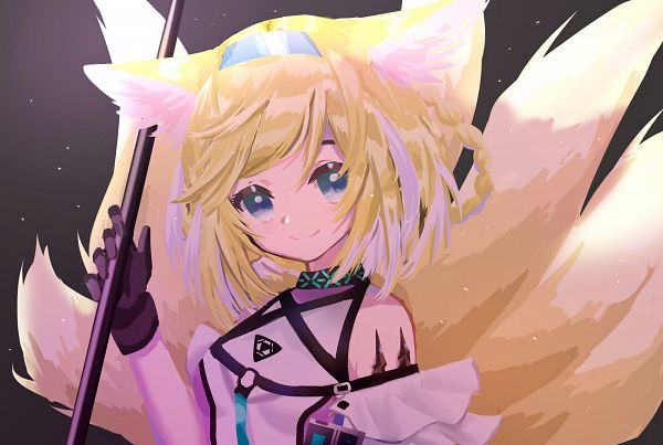 Tags: Anime, Pixiv Id 20116213, Arknights, Suzuran (Arknights)