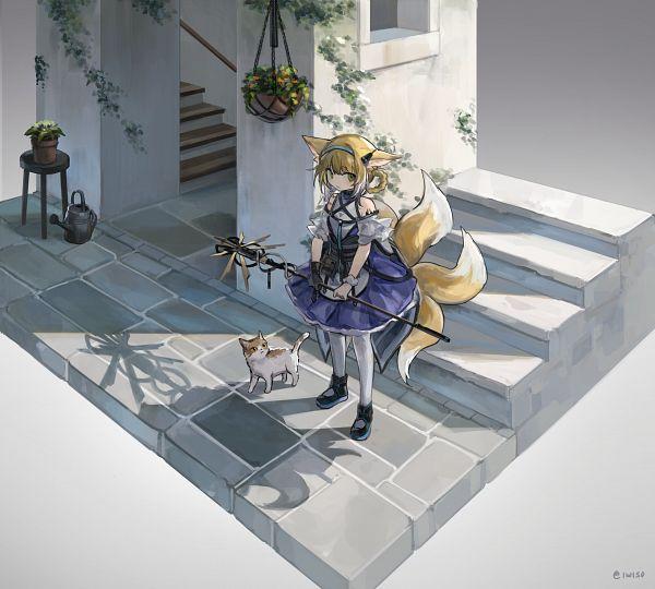 Tags: Anime, Pixiv Id 5405589, Arknights, Suzuran (Arknights)