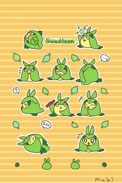 Swadloon - Pokémon