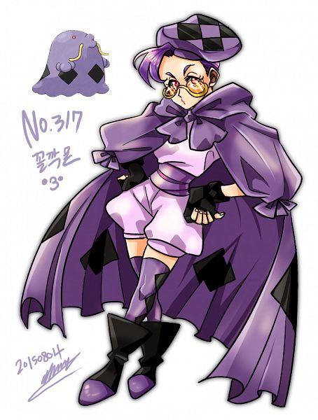 Tags: Anime, Pixiv Id 3304089, Pokémon, Swalot, Mobile Wallpaper, Fanart, Fanart From Pixiv, Pixiv