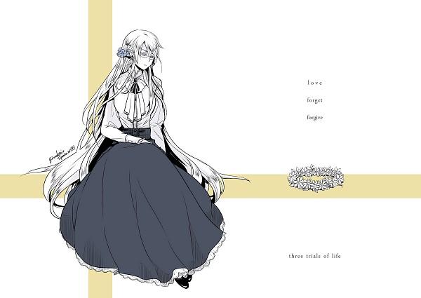 Tags: Anime, Ten(*´∀`*), Axis Powers: Hetalia, Sweden (Female), Wreath, Nyotalia, Nordic Countries
