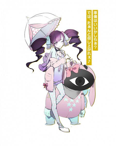Tags: Anime, OGch, Historia (Studio), Caligula, Caligula: Overdose, Sweet-P (Caligula), Official Art