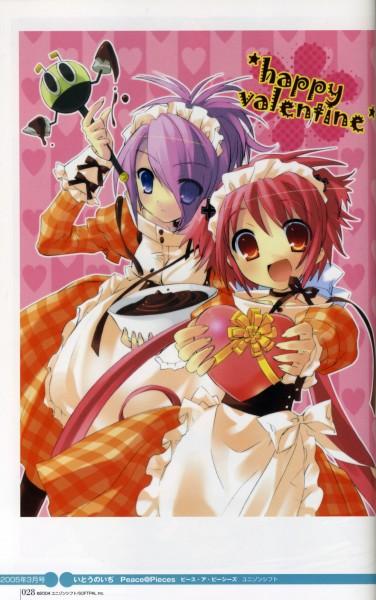 Tags: Anime, Ito Noizi, Sweet Girls, Peace@Pieces, Dengeki Hime