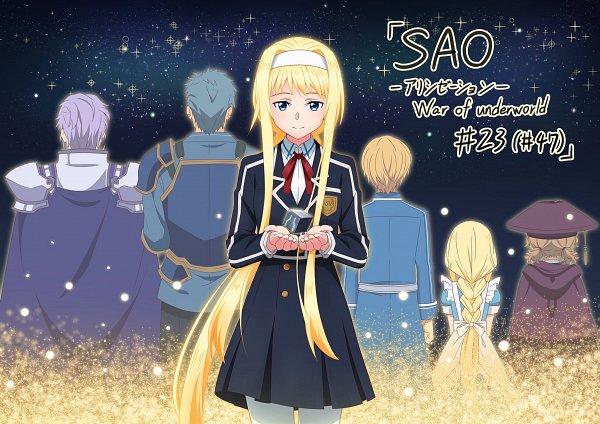 Tags: Anime, Sword Art Online, Sword Art Online: Alicization -War Of Underworld-, Alice Schuberg, Eldrie Woolsburg, Bercouli (Sword Art Online), Cardinal (Sword Art Online), Eugene (Sword Art Online)