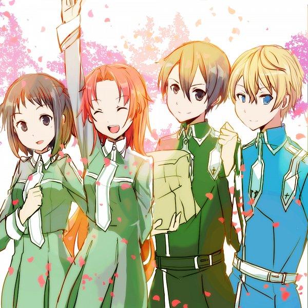 Tags: Anime, Pixiv Id 1658421, Sword Art Online: Alicization, Sword Art Online, Tiese Shtolienen, Eugeo (Sword Art Online), Kirigaya Kazuto, Ronye Arabel