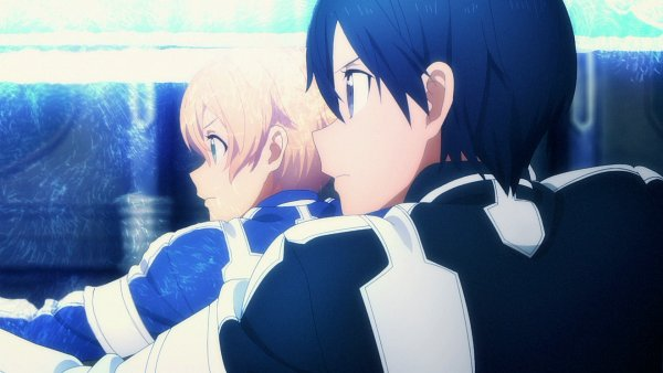 Tags: Anime, Sword Art Online: Alicization, Sword Art Online, Eugeo (Sword Art Online), Kirigaya Kazuto, Screenshot, Wallpaper