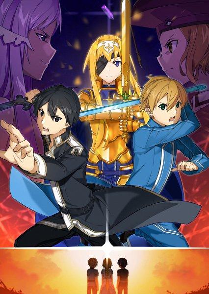 Tags: Anime, Pixiv Id 5762434, Sword Art Online: Alicization, Sword Art Online, Cardinal (Sword Art Online), Alice Schuberg, Quinella, Eugeo (Sword Art Online), Kirigaya Kazuto