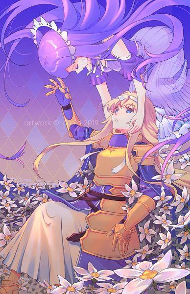 Tags: Anime, Klaeia, Sword Art Online, Sword Art Online: Alicization, Alice Schuberg, Quinella