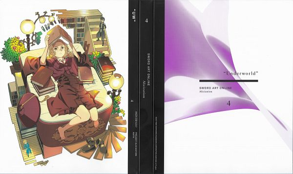 Tags: Anime, Adachi Shingo, A-1 Pictures, Sword Art Online, Sword Art Online: Alicization, Kirigaya Kazuto, Cardinal (Sword Art Online), Eugeo (Sword Art Online), Scan, DVD (Source), Official Art