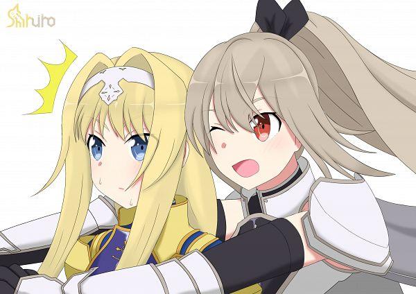 Tags: Anime, Pixiv Id 30263741, Sword Art Online, Sword Art Online: Alicization Blading, Alice Schuberg, Eydis Synthesis Ten, Sword Art Online: Alicization Rising Steel