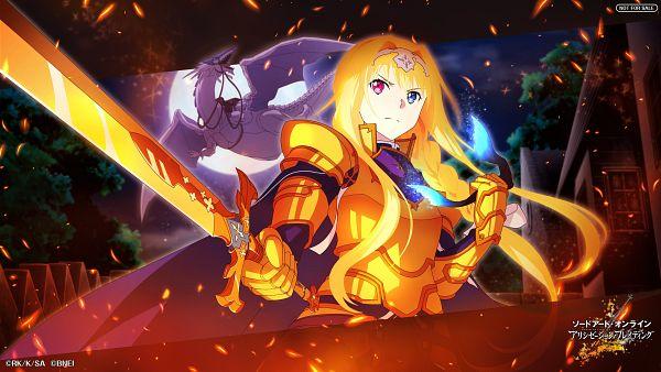 Tags: Anime, Bandai Namco Entertainment, Sword Art Online, Sword Art Online: Alicization Blading, Amayori, Alice Schuberg, Official Wallpaper, Wallpaper, Official Art, Sword Art Online: Alicization Rising Steel