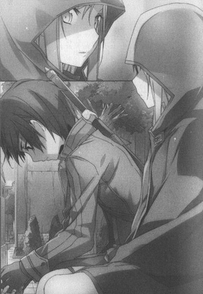 Tags: Anime, abec, Sword Art Online, Sword Art Online: Progressive, Yuuki Asuna, Kirigaya Kazuto, Official Art, Mobile Wallpaper, Novel Illustration, Scan