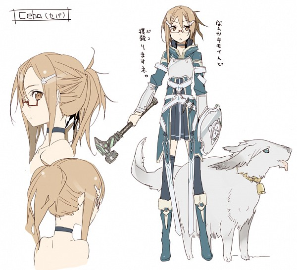 Tags: Anime, BUNBUN, Sword Art Online, Fan Character